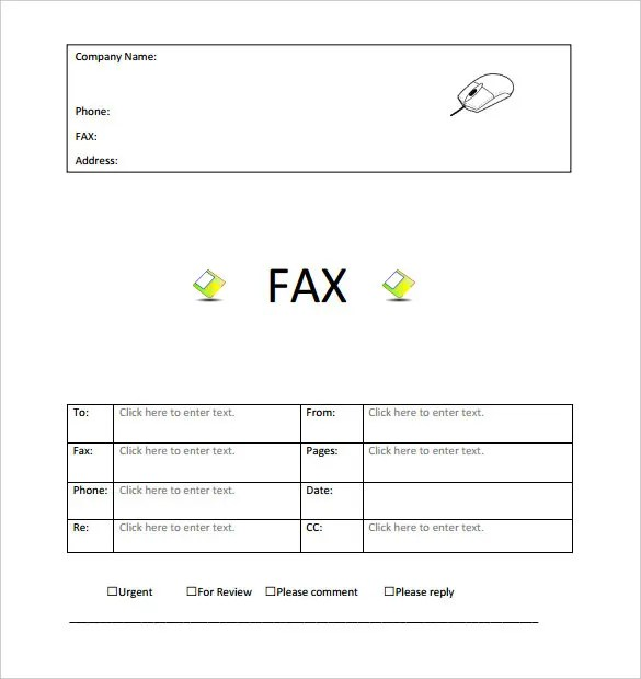 10+ Basic Fax Cover Sheet Templates \u2013 Free Sample, Example Format