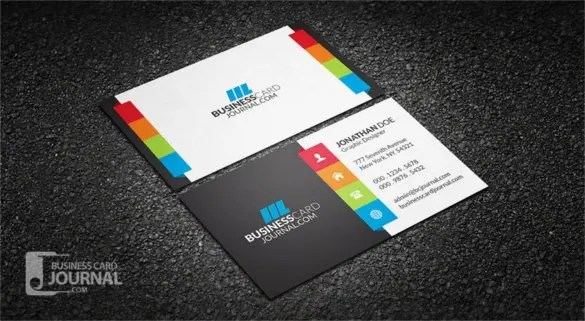 free download business cards template design - Minimfagency - business card template design