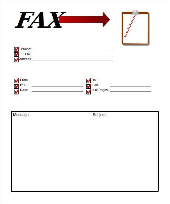 10+ Professional Fax Cover Sheet Templates u2013 Free Sample, Example - sample professional fax cover sheet template