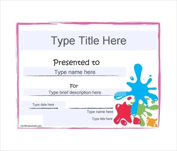 30+ Blank Gift Certificate Templates - DOC, PDF Free  Premium