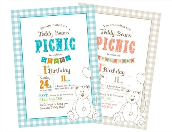 Picnic Invitation Template - 26+ Sample, Example, Format Download - get together invitation template
