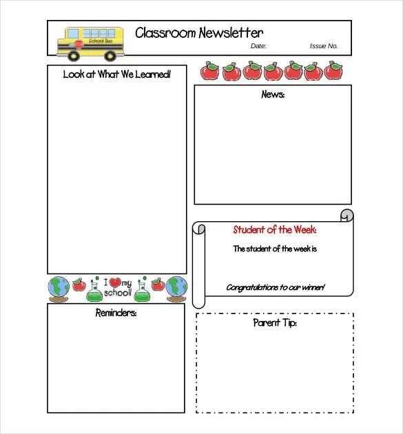 8+ Free Newsletter Templates - Free Word, PDF Documents Download