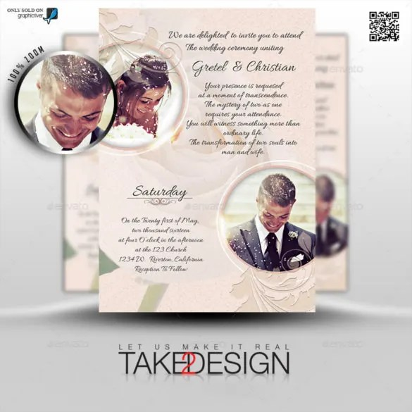 24+ Photo Wedding Invitations - AI, PSD, InDesign, Word Free