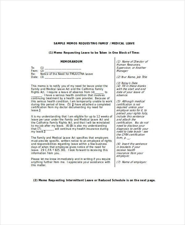 Medical Leave Letter - 8+ Free Word, Excel, PDF Documents Download