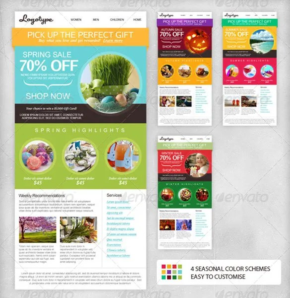 20+ Email Newsletter Templates - Free Sample, Example, Format Free