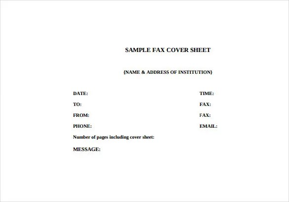 Fax Cover Letter Template u2013 9+ Free Word, PDF Documents Download - sample professional fax cover sheet template