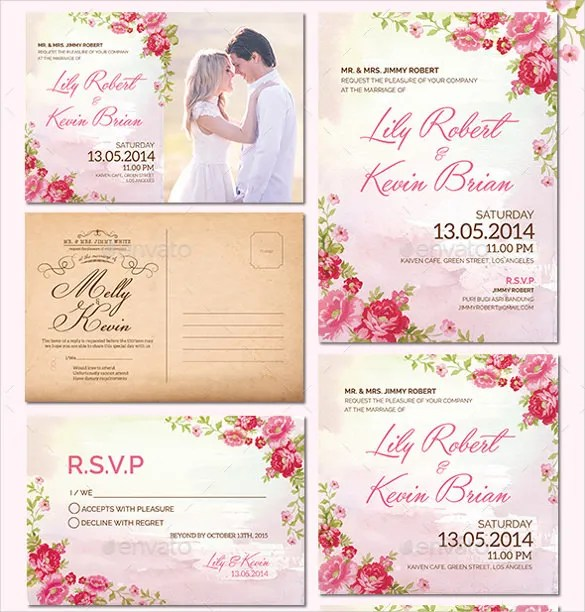 15+ Wedding Reception Invitation Templates - Free PSD, JPG, Word