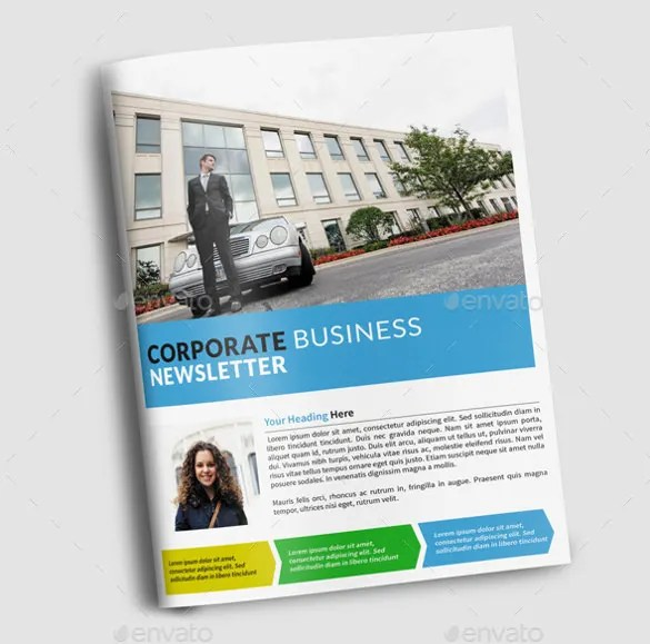 Company Newsletter Investment Securities Company Newsletter - company newsletter template free