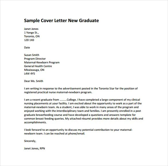 8+ Nursing Cover Letter Templates - Free Sample,Example, Format