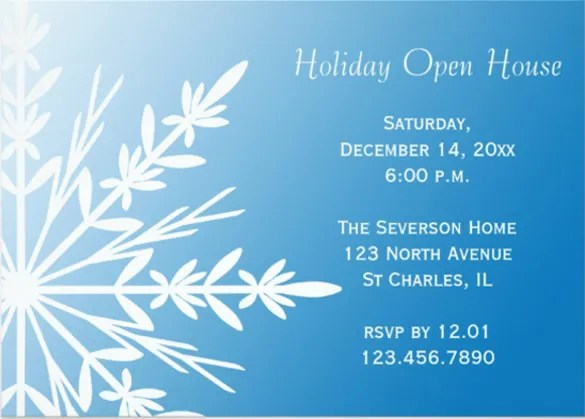 25+ Open House Invitation Templates - Free Sample, Example, Format
