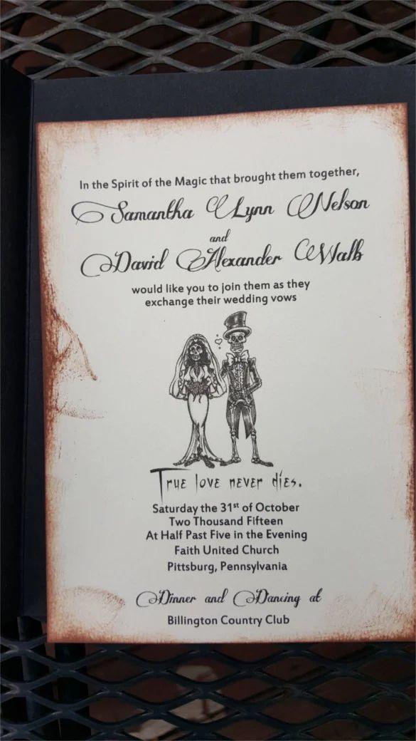 wedding invitation free download
