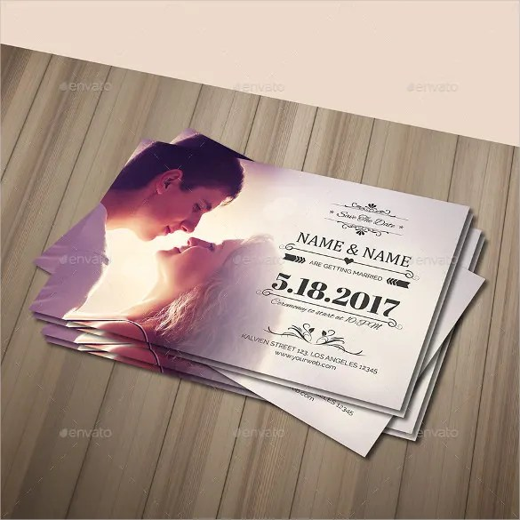 Wedding Postcard Template \u2013 21+ Free PSD, Vector EPS, AI, Format - postcard wedding invitations template free