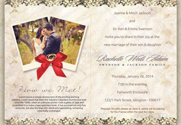 Wedding Postcard Template \u2013 21+ Free PSD, Vector EPS, AI, Format