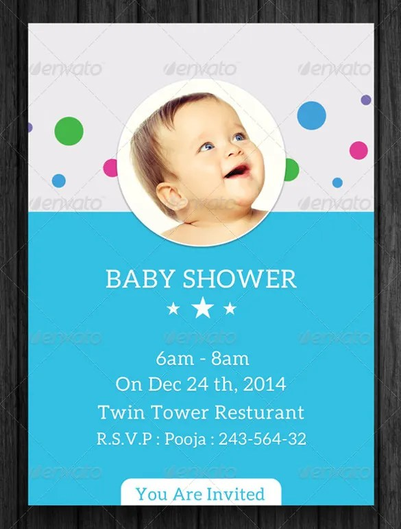 34+ Baby Shower Invitation Templates - PSD, Vector EPS, AI, Format - baby shower invitation template download