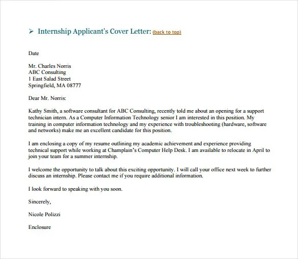 9+ Email Cover Letter Templates \u2013 Free Sample, Example, Format - good resume cover letter examples