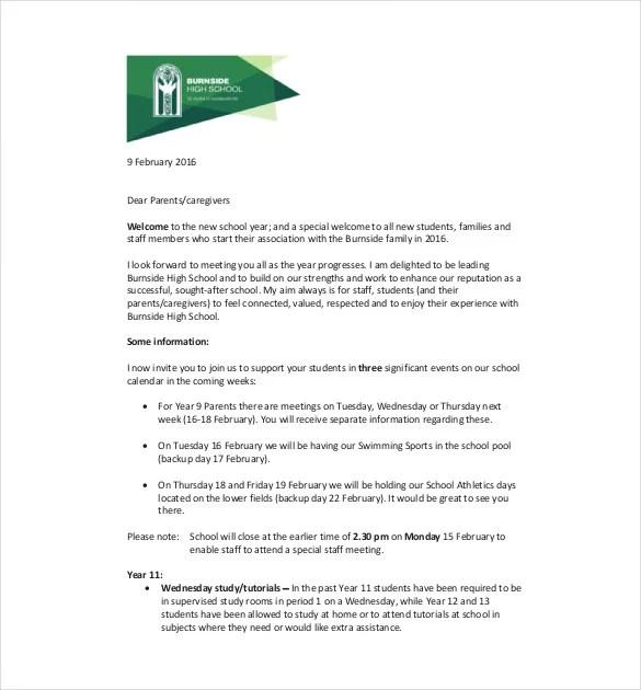 7+ School Newsletter Templates - Free Sample, Example, Format - sample of school newsletters
