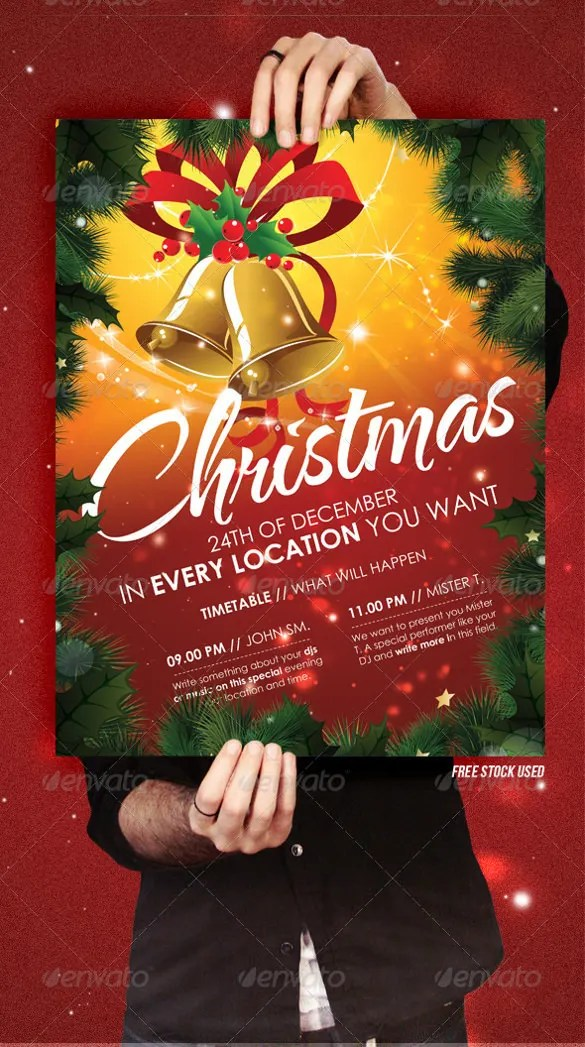 20+ Christmas Invitation Templates - Free Sample, Example, Format