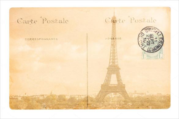 old postcard template - Kordurmoorddiner