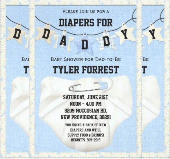 baby shower flyer ideas