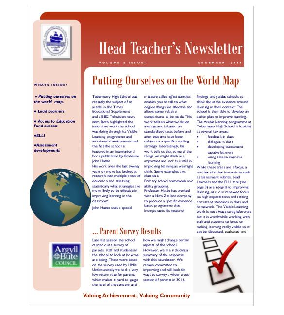 9+ Teacher Newsletter Templates \u2013 Free Sample, Example, Format - sample of school newsletters