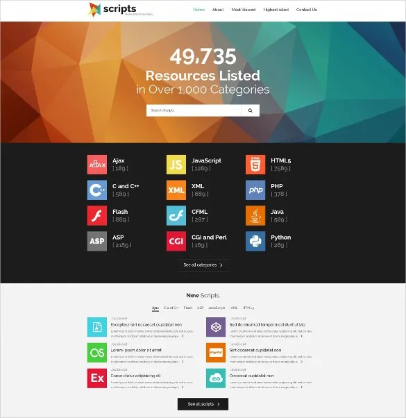 17+ Directory  Listing Bootstrap Themes  Templates Free