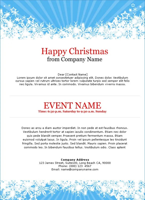 11+ Exceptional Email Invitation Templates - Free Sample, Example