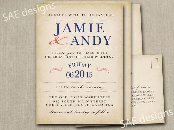 28 Wedding Invitation Wording Templates Free Sample Example Format Download Free
