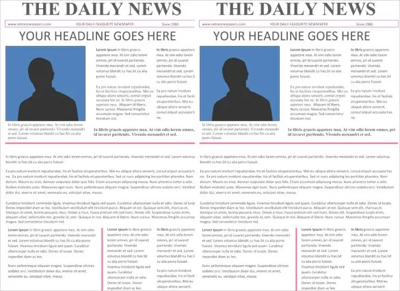 word document newsletter templates - Demireagdiffusion