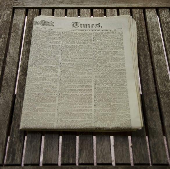 Old Newspaper Template \u2013 13+ Free PSD, EPS, Indesign Documents - old newspaper template