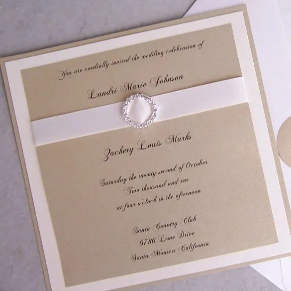 31+ Elegant Wedding Invitation Templates \u2013 Free Sample, Example
