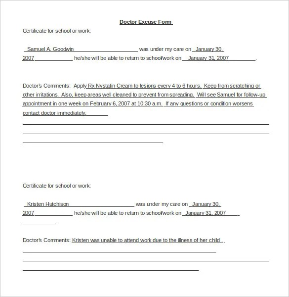 sample letterhead doctor what should a letter from my doctor ...