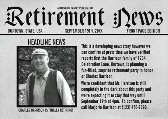 12+ Newspaper Front Page Templates u2013 Free Sample, Example, Format - newspaper headline template