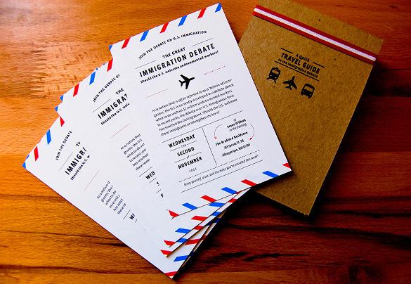 postcard invitation templates