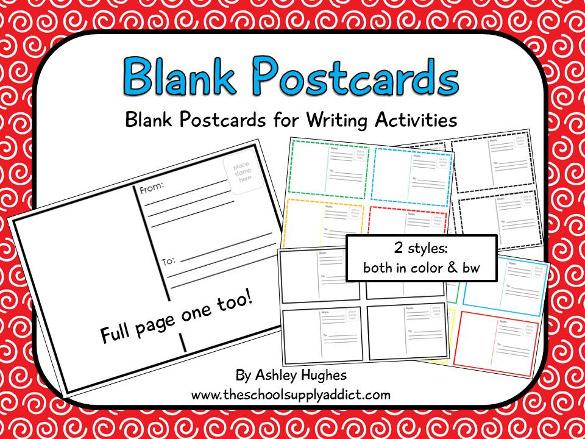 20+ Postcard Templates for Kids u2013 Free Sample, Example Format - printable postcard template free