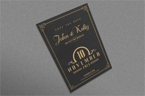20+ Wedding Postcard Templates \u2013 Free Sample, Example, Format - postcard wedding invitations template free