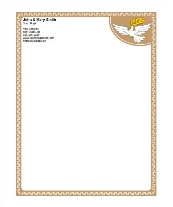 free stationery templates for word - Minimfagency