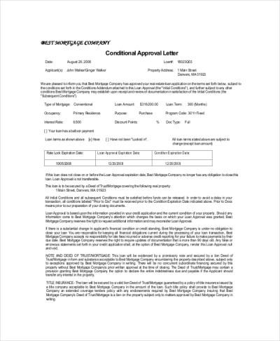 10+ Approval Letter Templates - PDF, DOC   Free & Premium Templates