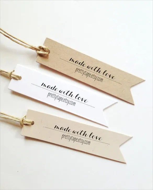 24+ Gift Tag Templates \u2013 Free Sample, Example Format Download