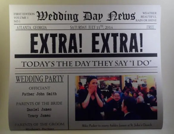 15+ Newspaper Headline Templates \u2013 Free Sample, Example, Format - Newspaper Headline Template