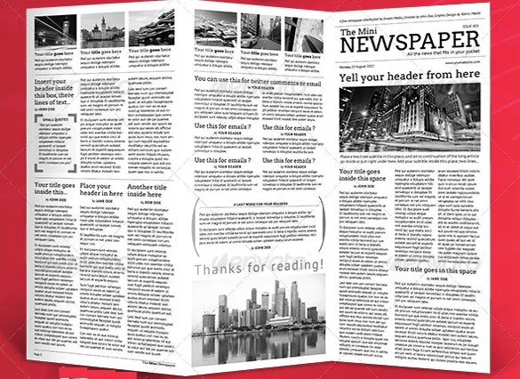 6+ School Newspaper Templates - Free Sample, Example, Format