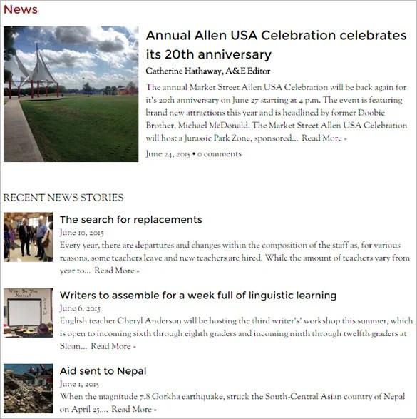 8+ School Newspaper Templates \u2013 Free Sample, Example, Format