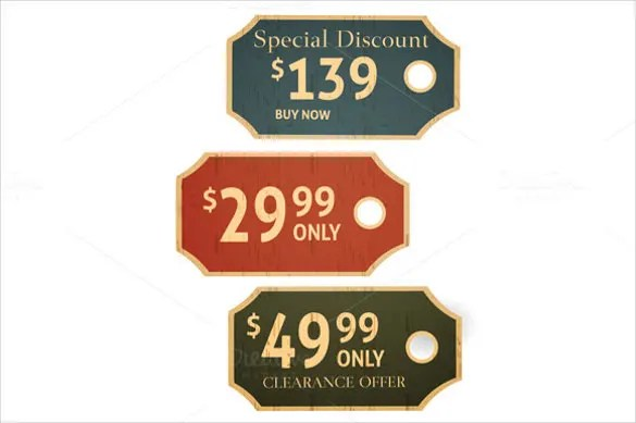 23+ Price Tag Templates \u2013 Free Sample, Example Format Download