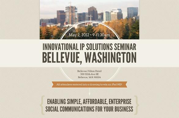 Seminar Invitation Template \u2013 10+ Free PSD, Vector EPS, AI, Format