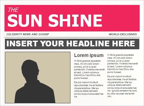 14+ Powerpoint Newspaper Templates - Free Sample, Example, Format