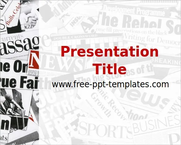 14+ Powerpoint Newspaper Templates - Free Sample, Example, Format - free slide backgrounds for powerpoint