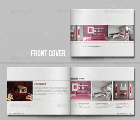 catalogue template for word