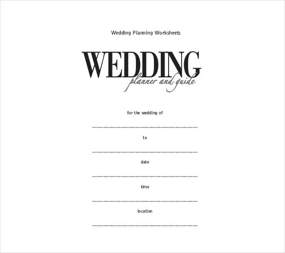 Wedding Itinerary Template - 44+ Free Word, PDF Documents Download - wedding schedule templates