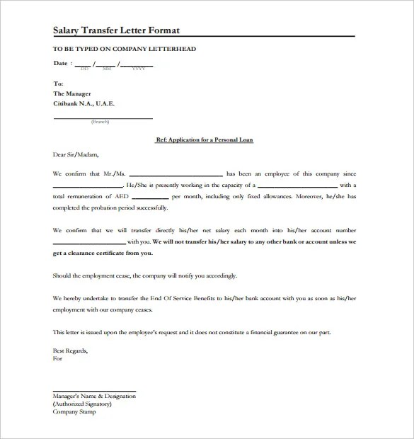 Salary Letter   Coinfetti   Format Of Salary Certificate Letter