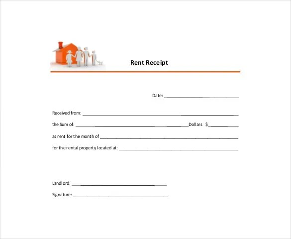 Rental Receipt Template - 39+ Free Word, Excel, PDF Documents - Format For Rent Receipt