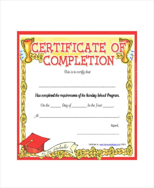 sample certificates for kids hitecauto - sample school certificate